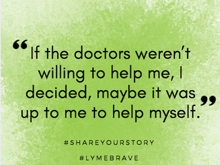 Lyme Awareness Month, Day Four: Being LymeBrave, A Lyme Disease Story
