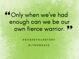 Lyme Awareness Month, Day Three: Finding Strength in Your Story