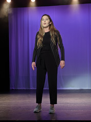 """Heather Youmans performs selections from """"Little Women"""" and """"Footloose"""" live in concert."""