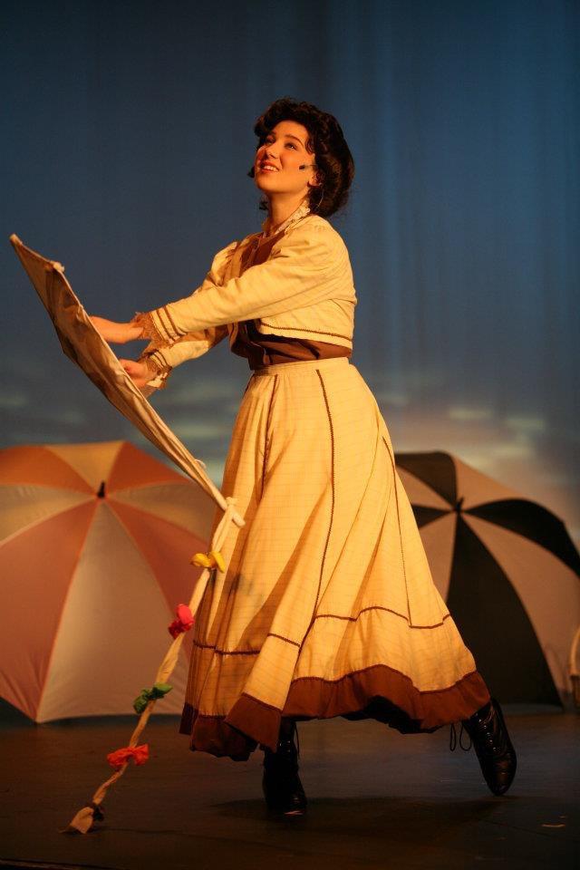 """Heather Youmans as Jo March in """"Little Women"""""""