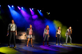 """Heather Youmans as Rusty in """"Footloose"""""""