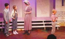 Heather Youmans as Scout in West Coast Ensemble's To Kill A Mockingbird (2004) - dir. Claudia Jaffe / prod. Richard Israel