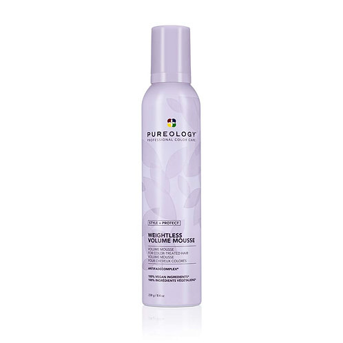 Pureology Style + Protect Weightless Volume Mousse 11oz