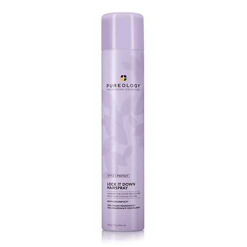 Pureology Style + Protect Lock It Down Hairspray 11oz