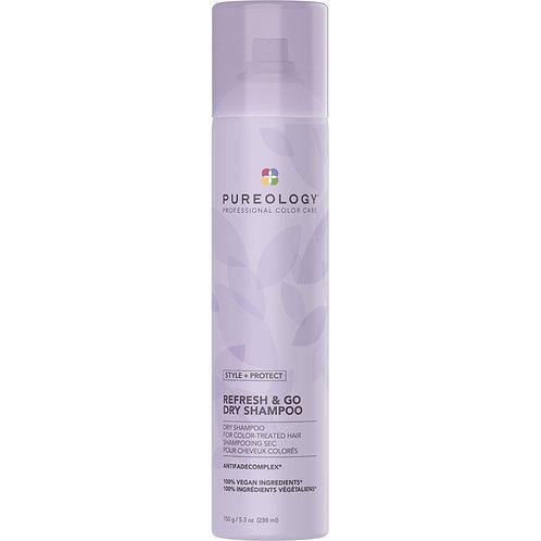 Pureology Style + Protect Refresh & Go Dry Shampoo 5.3oz