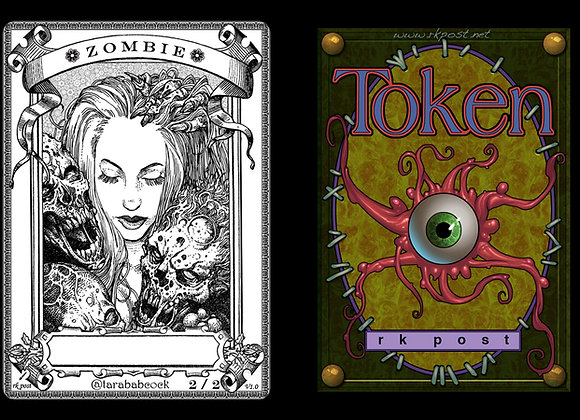 T181 Classic Zombie 5 Token
