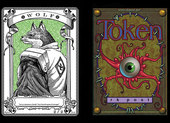 T481 Classic Wolf 4 Token