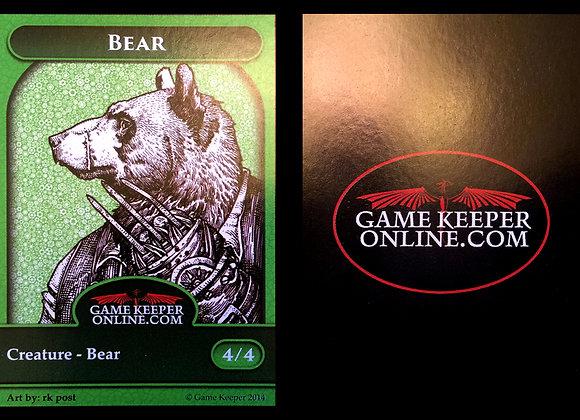 Gamekeeper GP Ottawa Bear Token