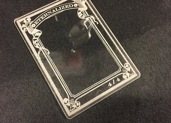 AET017 Eternalized 1 Acrylic Etched Token
