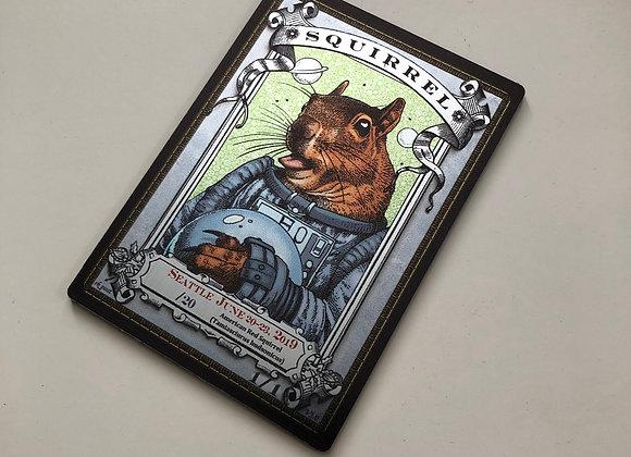 High# Seattle 2019 Squirrel 2 Silver Metallex Token