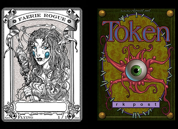 T236 Classic Faerie Rogue 3 Token