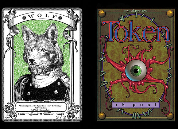 T474 Classic Wolf 3 Token