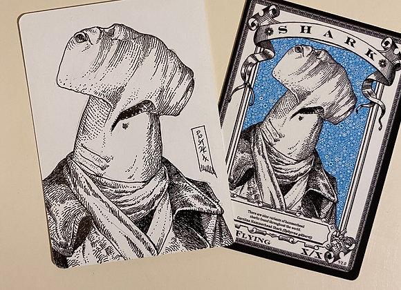 OTA011 Original Shark 2 Token Art