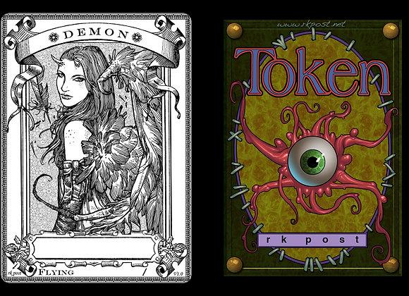 T159 Classic Demon 1 Token
