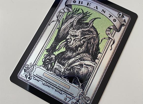 Patreon Release 19: Beast 1 Aluminum Token
