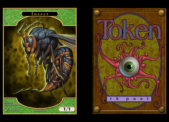 T106 Full Color Insect 1 Token