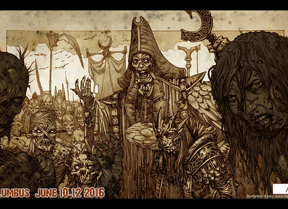 PLM123 Very Limited GP Columbus 2016 Playmat