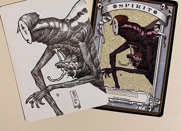 OTA021 Original Patreon Spirit 1 Token Art