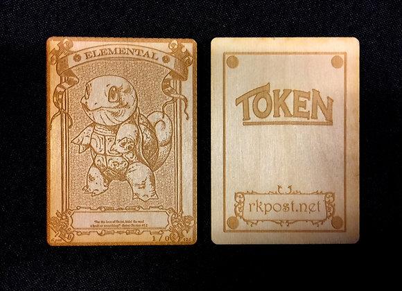 WT013 Elemental 29 Wood Token
