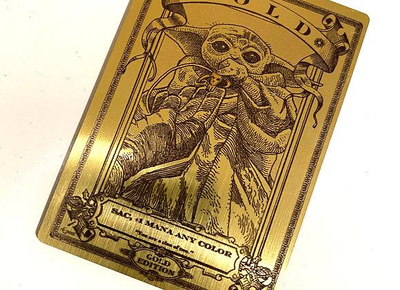 MTG012 Gold 3 Gold Metallex Token