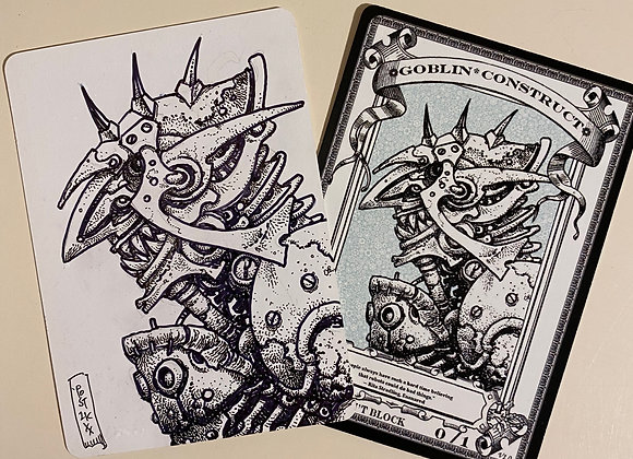 OTA016 Original Goblin Construct 1 Token Art