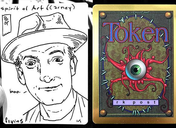 Bronze Token (Sketch Card)