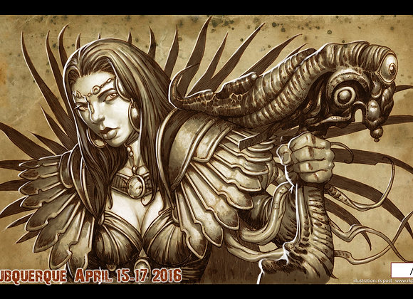 PLM120 Very Limited GP Albuquerque 2016 Playmat
