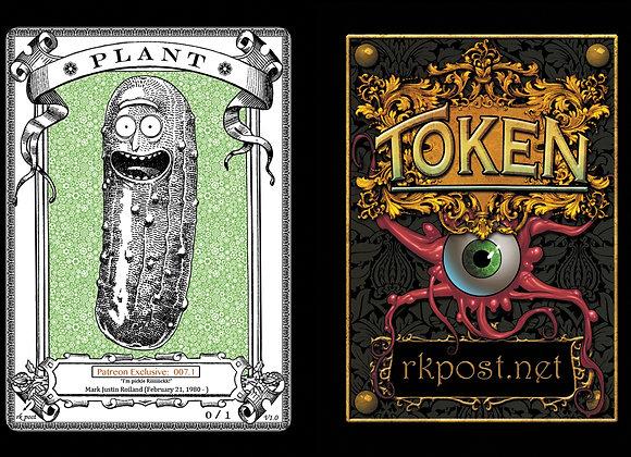 Patreon Release 7: Plant 1 Bronze Token