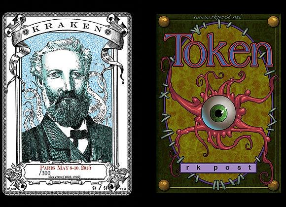 Random High # Paris Verne Kraken 2 Token