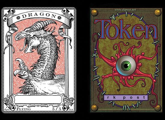 T361 Classic Dragon 4 Token