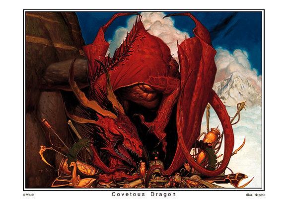 MP23 Covetous Dragon Print