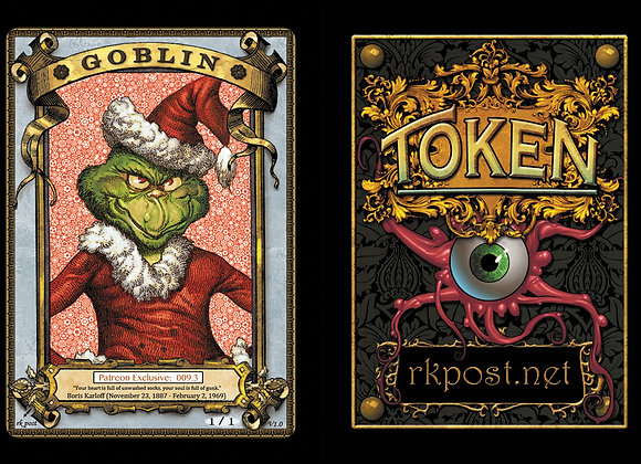 Patreon Release 9: Goblin 1 Gold Token