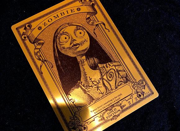 MTG007 Zombie 17 Gold Metallex Token
