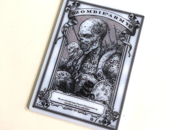 APT084 Zombie Army 2 Acrylic Printed Token