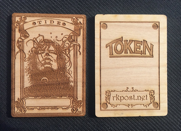 WT048 Tide 1 Wood Token