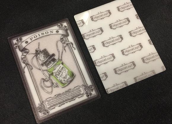 APT012 Poison Counter 9 Acrylic Printed Token