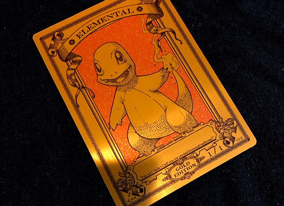 MTG008 Elemental 22 Gold Metallex Token