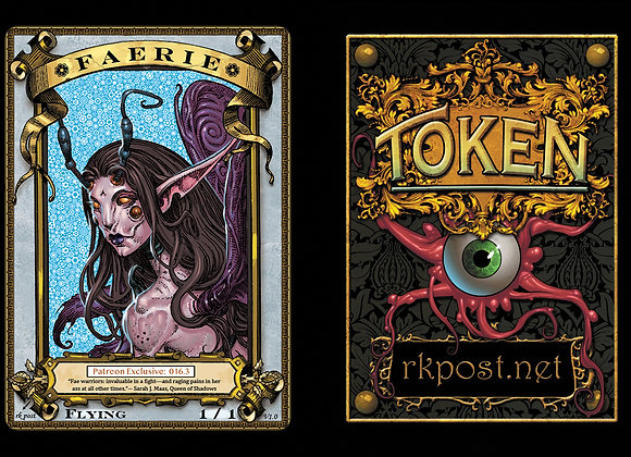 Patreon Release 16: Faerie 1 Gold Token