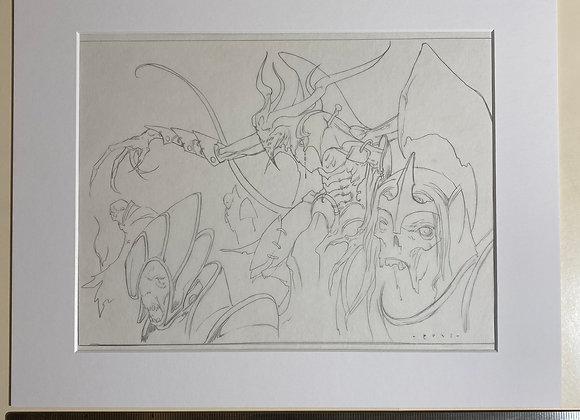 Overseer of the Damned Intermediate Sketch Pencils