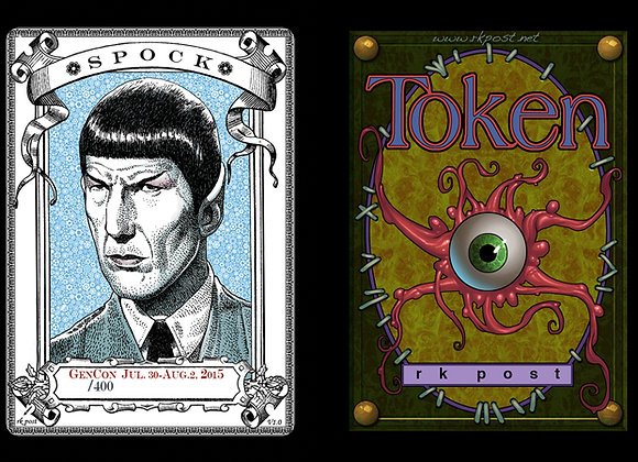 Random High # GenCon Spock 1 Token