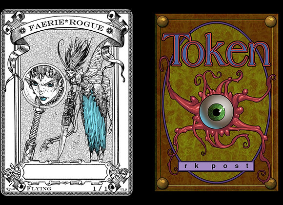 T137 Classic Faerie Rogue 1 Token