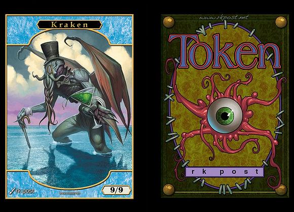 T187 Full Color Kraken 1 Token