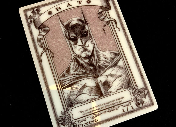 APT062 Bat 2 Acrylic Printed Token