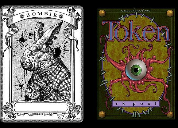 T144 Classic Zombie 1 Token