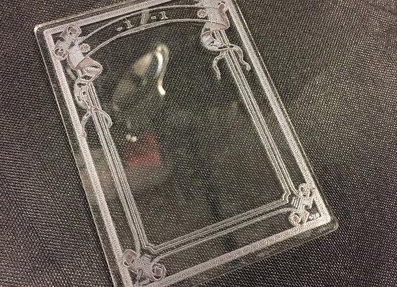 APCT007 -1/-1 1 Clear Acrylic Printed Token
