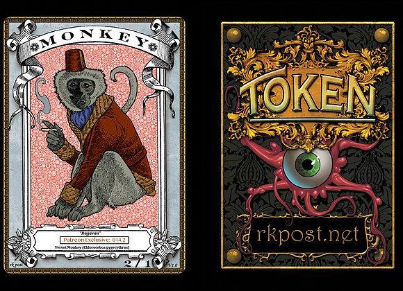 Patreon Release 14: Monkey 1 Silver Token