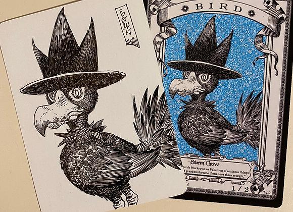 OTA041 Original Bird 12 Token Art