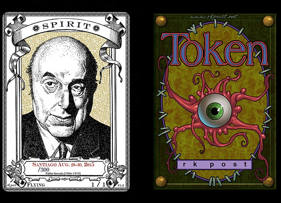 Random High # Santiago Neruda Spirit 5 Token