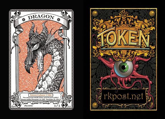 Patreon Release 8: Dragon 1  Mini Token