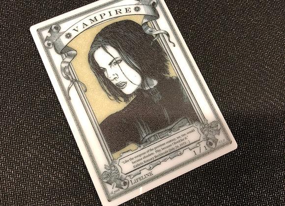 APT038 Vampire 12 Acrylic Printed Token
